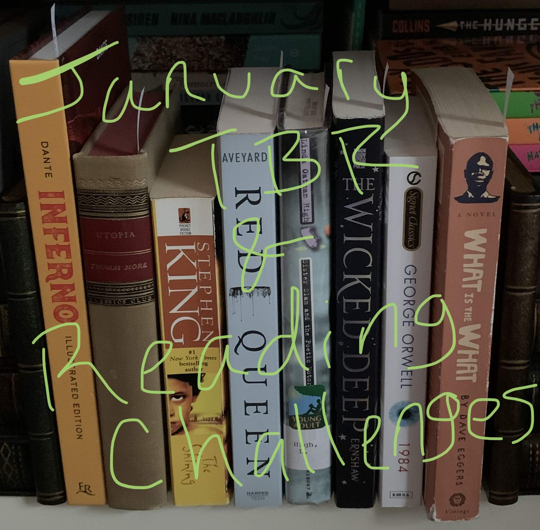 January TBR & Reading Challenges